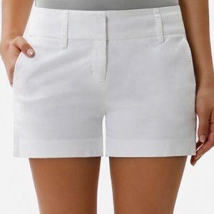 Daisy Fuentes Ivory White Khaki Shorts